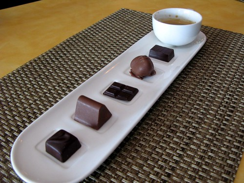 Olivier Bioteau's chocolates at Farmhouse Cafe