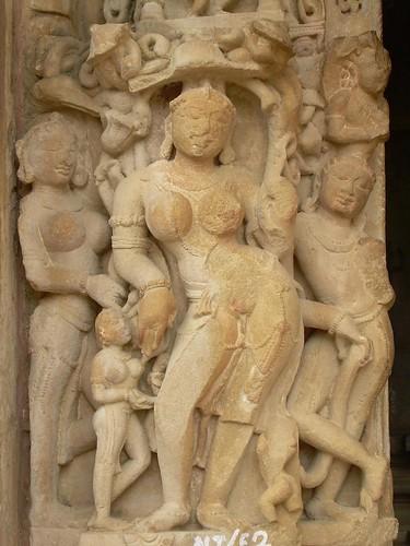 Apsaras en Khajuraho