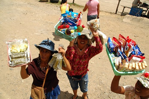 women selling snacks suman and refreshment for bus passengers Negros peddler  vendor Pinoy Filipino Pilipino Buhay  people pictures photos life Philippinen  菲律宾  菲律賓  필리핀(공화국) Philippines softdrinks biscuit crackers kakanin food