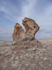 San Pedro Atacama - Valle de la luna - rocher