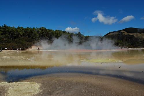 Nový Zéland - Wai O Tapu