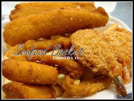 Fish Bar: Seafood Basket