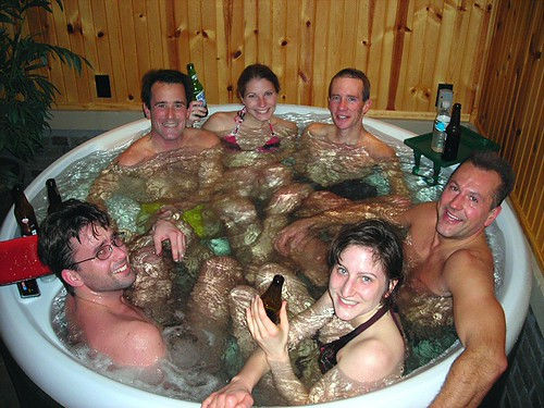 Thursday Hot Tub