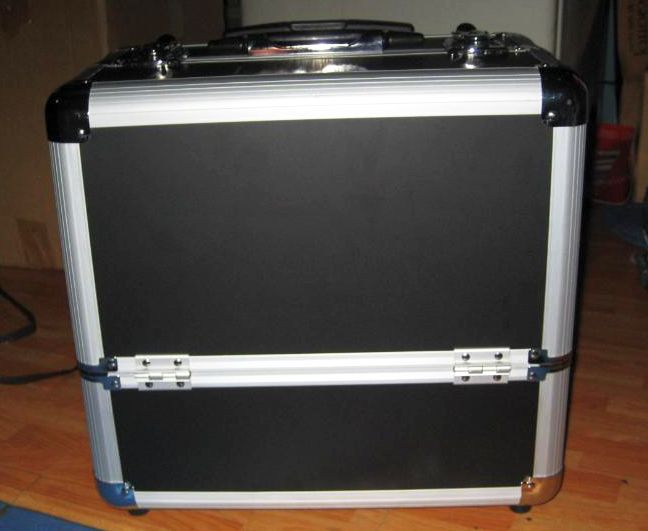 my trolley traincase -- front view