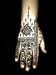 Maya, August 2007 (paintedlotus) Tags: henna mehndi