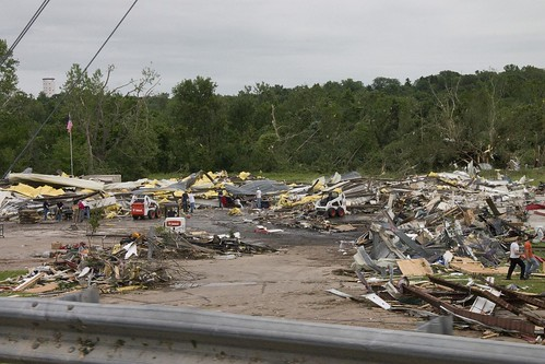 Manhattan Tornado Damage