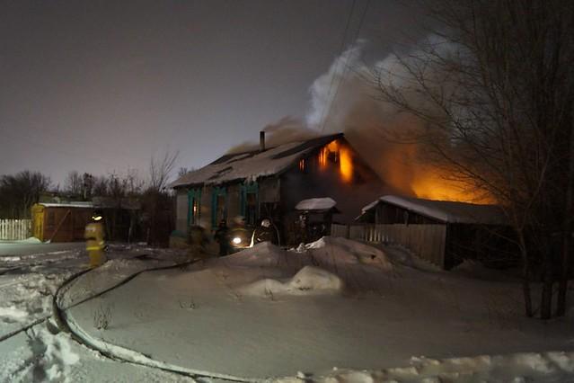 Накануне вСызрани произошел пожар, вкотором умер человек