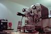 My Rocket Evoluzione II on Kodak Portra 800 (Roland Rick) Tags: blende14 capuccino dampfdruck film glanzspiegel iso800 kaffee kaffeemaschine kodak küche leicam6 liechtenstein portra portra800 rocketevoluzione2 summiluxm35mmf14asphii vaduz heisseswasser metall wasser