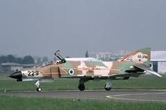 F-4 Super Phantom (Israel) (Rob Schleiffert) Tags: f4 phantom mcdonnell kurnass kurnass2000 israeliairforce idfaf lebourget 4xjpa