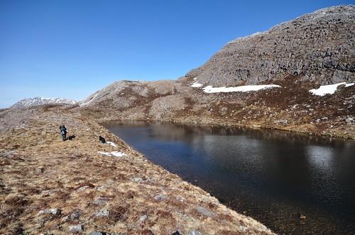 Lochan below Sgurr Dubh