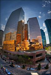 Downtown Edmonton (Artvet) Tags: city edmonton club16 canonef15f28fisheye