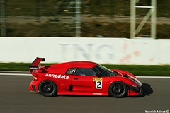 Noble M12 GTO 3R (yannickminet) Tags: auto red 2 black ford car canon lens photography eos automobile track photographe