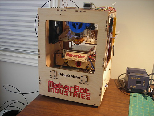 My Makerbot Thing-o-matic