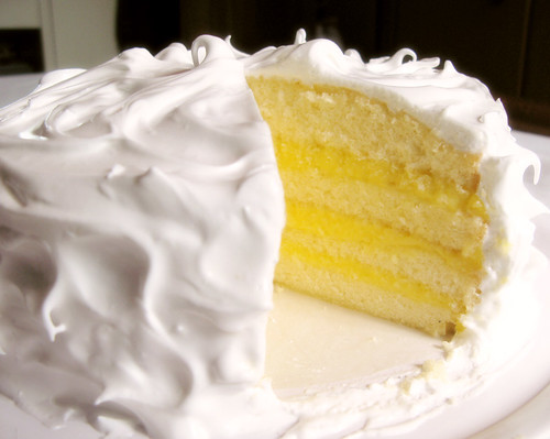 Lemon Layer Cake (whole)