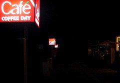cafe coffee day (sprotor) Tags: road ccd mysore coffeeday