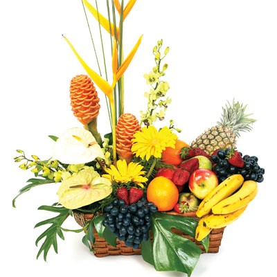 Fruits & Flower Basket (HHD25.0)