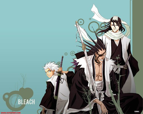 BLeach Captains Wallpaper