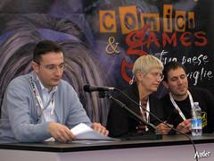 Margaret Weis alla presentazione del film della Dragonlance