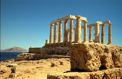 Greec, two parts (skippi1234) Tags: temple athens greece poseidon sounion supershot