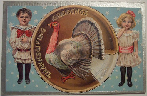 Vintage Thanksgiving Day Postcard