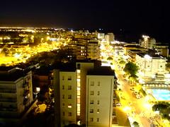 Lido di Savio by night (MiNo SaN tOmE') Tags: night lights riviera mare luci grattacielo notte adriatico notturno romagna lidodisavio minorast