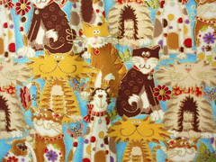 Kitty fabric