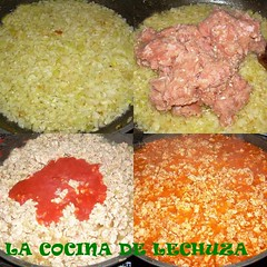 collage carne picada