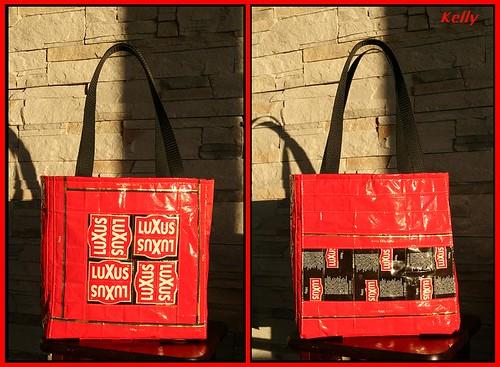 Punane Luxus kott