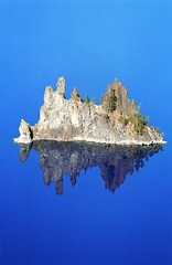 Reflected Phantom (f0rbe5) Tags: blue usa lake reflection green rock oregon america wow island nationalpark cool ship unitedstates ae1 or 1996 100v10f crater craterlake phantom dyke volcanic dike phantomship geological craterlakenationalpark singintheblues instantfave volcanicdike 35faves scenicwater 25faves volcanicdyke anawesomeshot impressedbeauty goldstaraward reflectedphantom