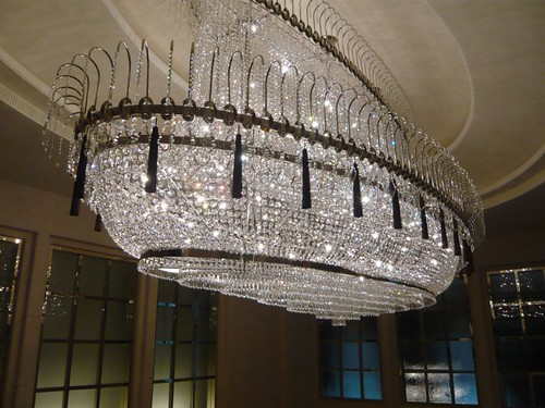 Ark-like chandelier