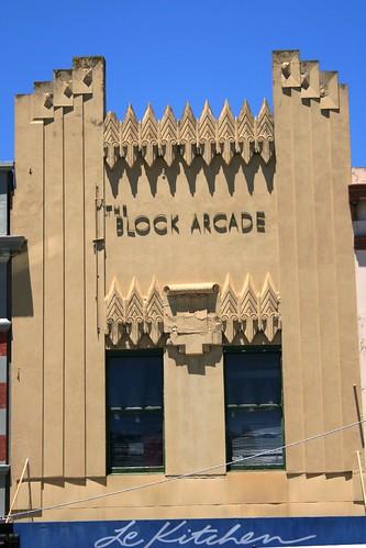 Block Arcade Facade