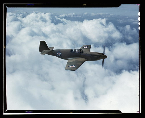 Warbird picture - North American's P-51 Mustang Fighter is in service with Britain's Royal Air Force, N[orth] A[merican] Aviation, Inc., Inglewood, Calif. (LOC)