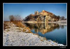 Benedictine Abbey Tyniec #2 (Mariusz Petelicki) Tags: winter poland polska krakw cracow zima hdr tyniec benedictineabbey canon400d mariuszpetelicki klasztorbenedyktynw