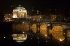 Gran Madre (Fabrizio Zago - Photography & media) Tags: bridge italy reflection church water night reflections river torino lights europa europe italia nightlights nightshot fiume bridges churches ponte chiesa rivers po gran nightshots luci acqua turin riflessi notte madre italians riflesso granmadre ponti chiese piazzavittorio fiumi fiumepo nikonstunninggallery granmadredidio pontevittorio chiesadellagranmadredidio anticando excellentafterdark