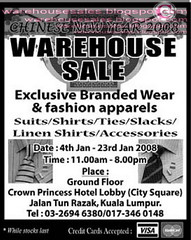 1101 cny warehouse sale malaysia