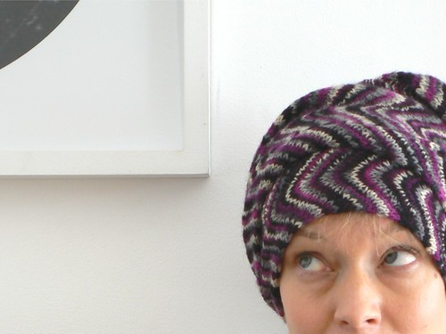 chevron turban