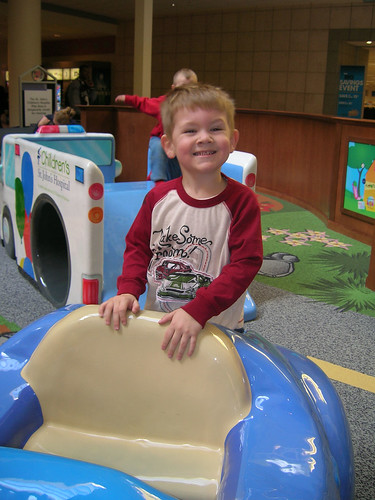 Bray in the Play Area Car