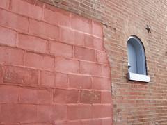 cold sundayscape (bfelice) Tags: brick wall cinderblock
