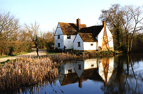 Willy Lott's cottage, Flatford Mill, Mar by crabchick, on Flickr