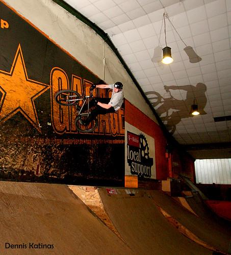 Cris wall ride