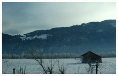 little home in the snow (sOngS tO tHe sIRenS....) Tags: blue house mountain snow cold germany lpwinter