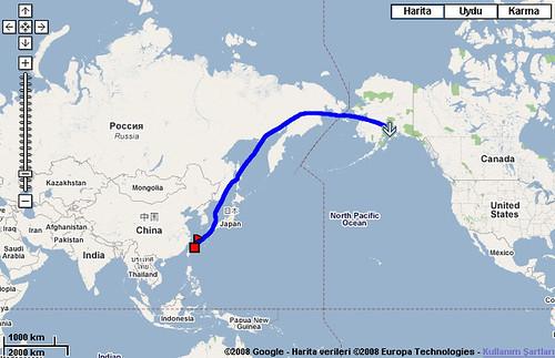 阿拉斯加極光八日之旅