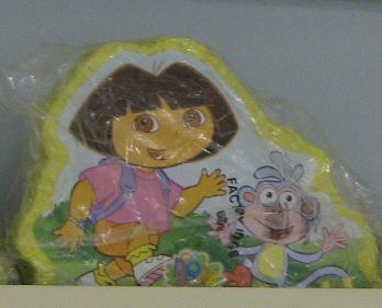 Dora the Explorer at Publix - No way Im whacking that thing