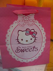 Hello Kitty Cafe Taipei Taiwan paper bag (Chamelle Photo) Tags: pink food cute cakes public cake cat japanese this restaurant see design cafe all with photos sweet hellokitty interior treats cartoon taiwan icon tagged desserts chandelier birthdaycake bakery kawaii pastry sweets theme click taipei   pastries decor  fuxing zhongxiao daanroad hellokittysweets