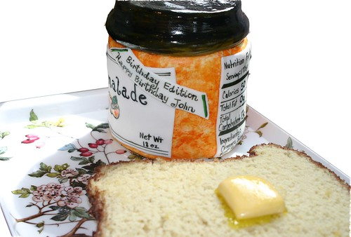 Nutrition Facts on Marmalade Jar Cake