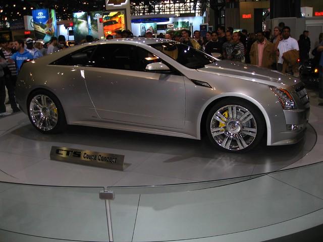 nyc cars manhattan javitscenter cadillacctscoupeconcept 2008nycautoshow