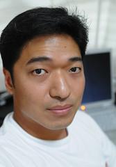 Self-portrait using the Cleon remote set