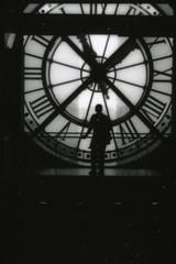 (jeffreywithtwof's) Tags: travel paris france clock jeff station train 1999 musée hutton dorsay jeffhutton scannedfromcontactsheet alarecherchedutempperdu jeffhuttonphotography jeffreyhutton
