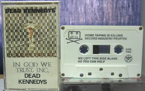 dead kennedys kazeta