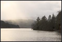 Elemental (spodzone) Tags: light cloud sunlight mist nature water landscape nikon loch d200 trossachs lochard